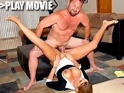 Hot hot blonde jaylyn has a cock in 1 hand and a mic in the other in these reporte gone bad fuck movies